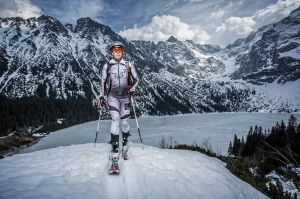 skitour, ania figura, Anna Figura (born February 6, 1990) is a Polish ski mountaineer. fot adam brzoza
